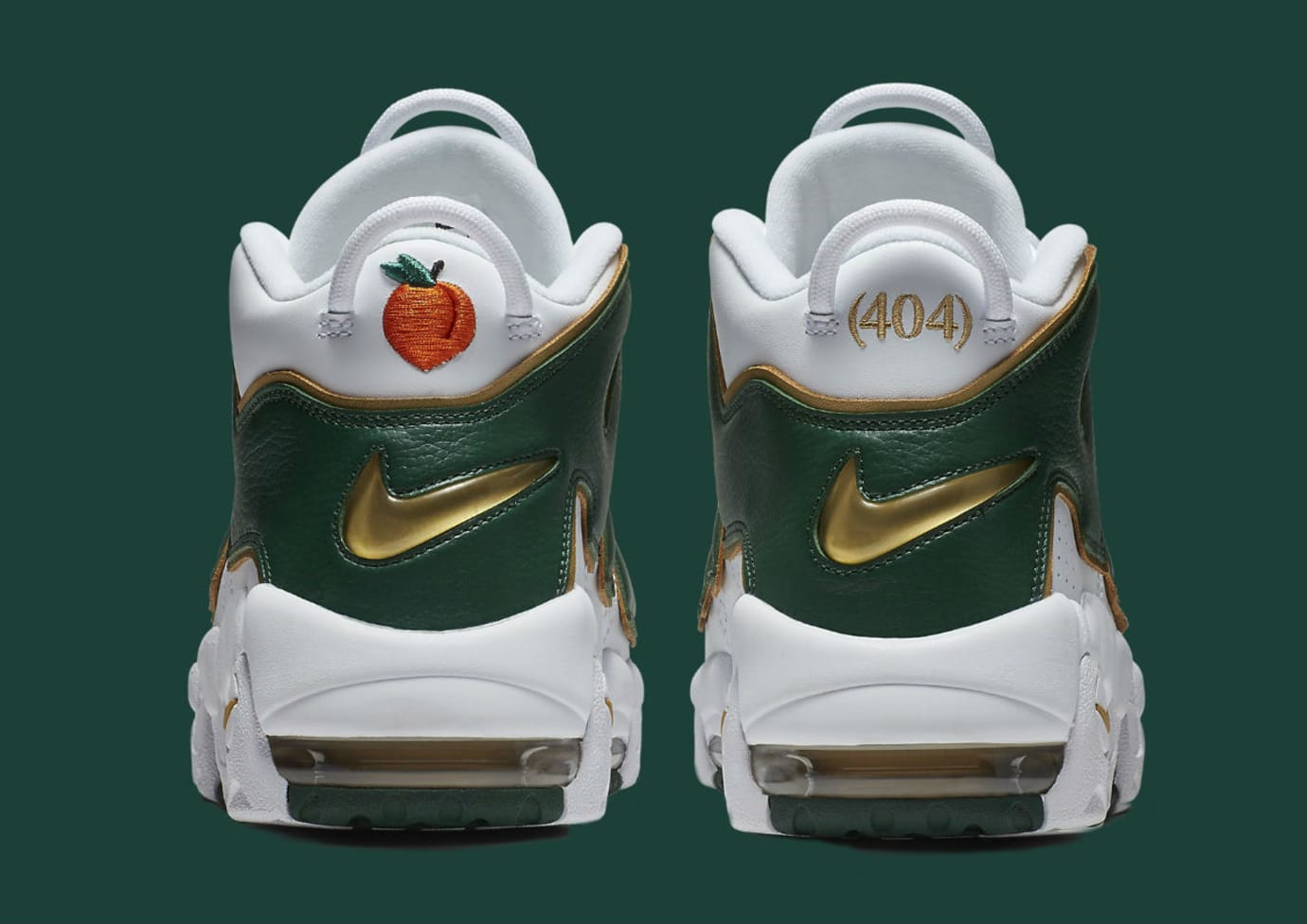 Nike Air More Uptempo Atlanta Release Date AJ3139-100 Heel