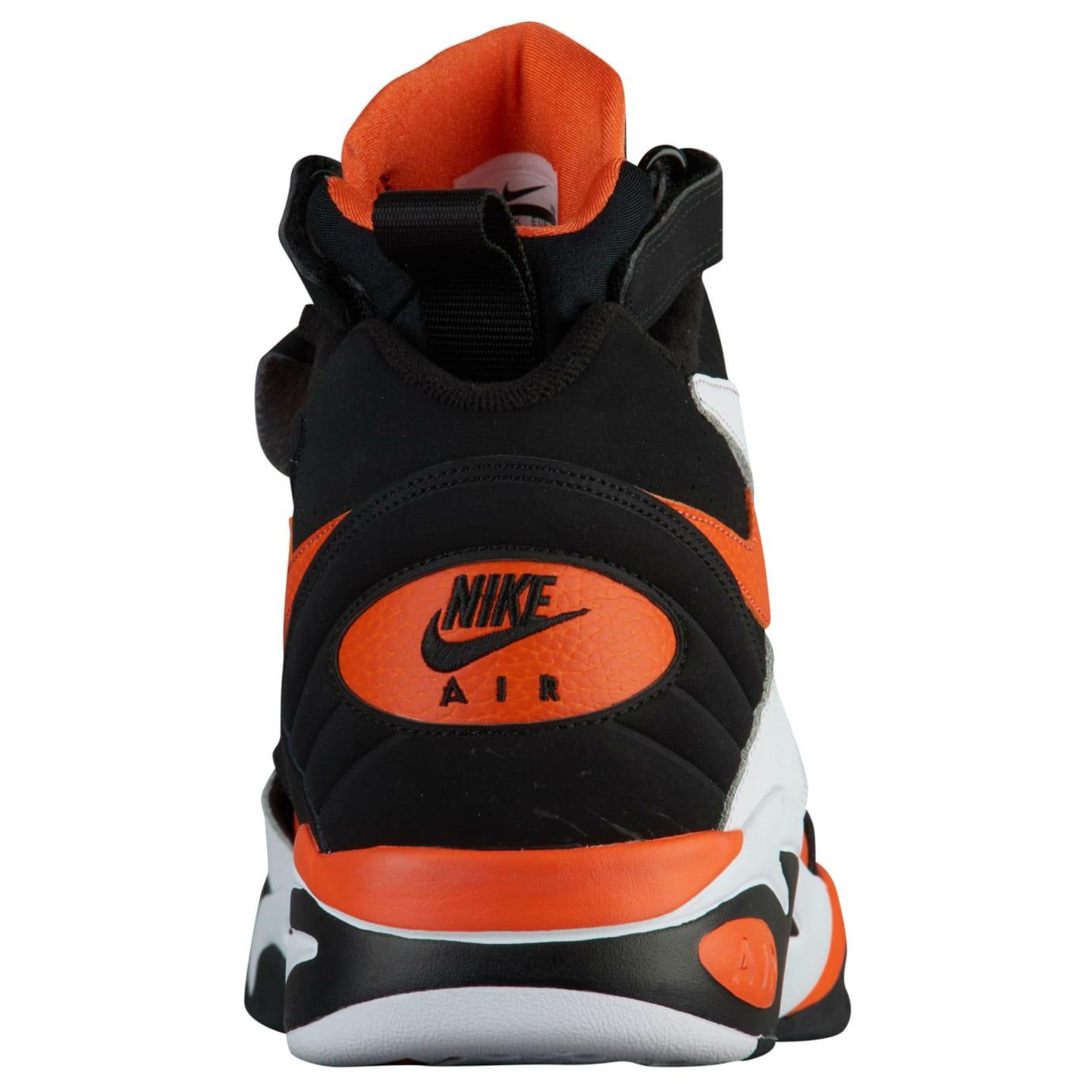 Nike Air Maestro 2 LTD Rush Orange Release Date AH8511-101 Heel