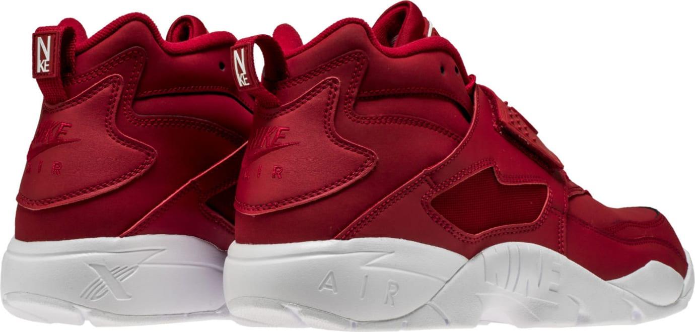 Nike Air Diamond Turf Red White 309434-600 Heel