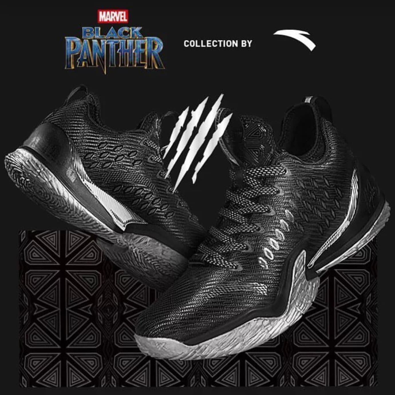 Anta KT3 Low Black Panther