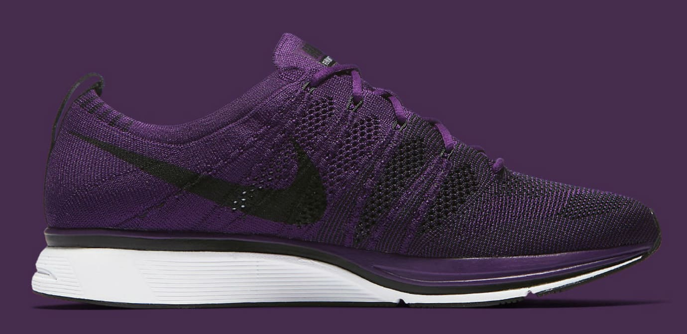 Nike Flyknit Trainer Night Purple Release Date AH8396-500 Medial