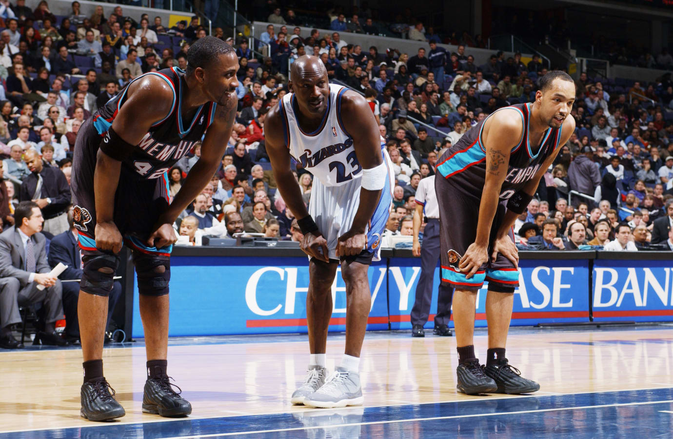 Michael Jordan Washington Wizards vs. Memphis Grizzlies