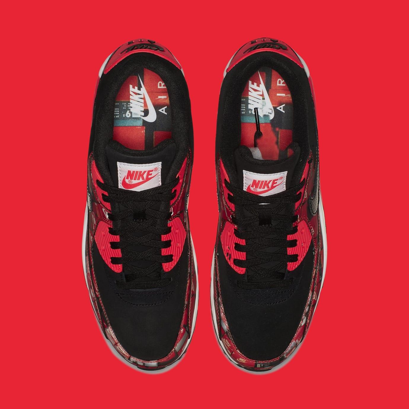 Atmos x Nike Air Max 90 'Infrared/We Love Nike' AQ0926-001 (Top)