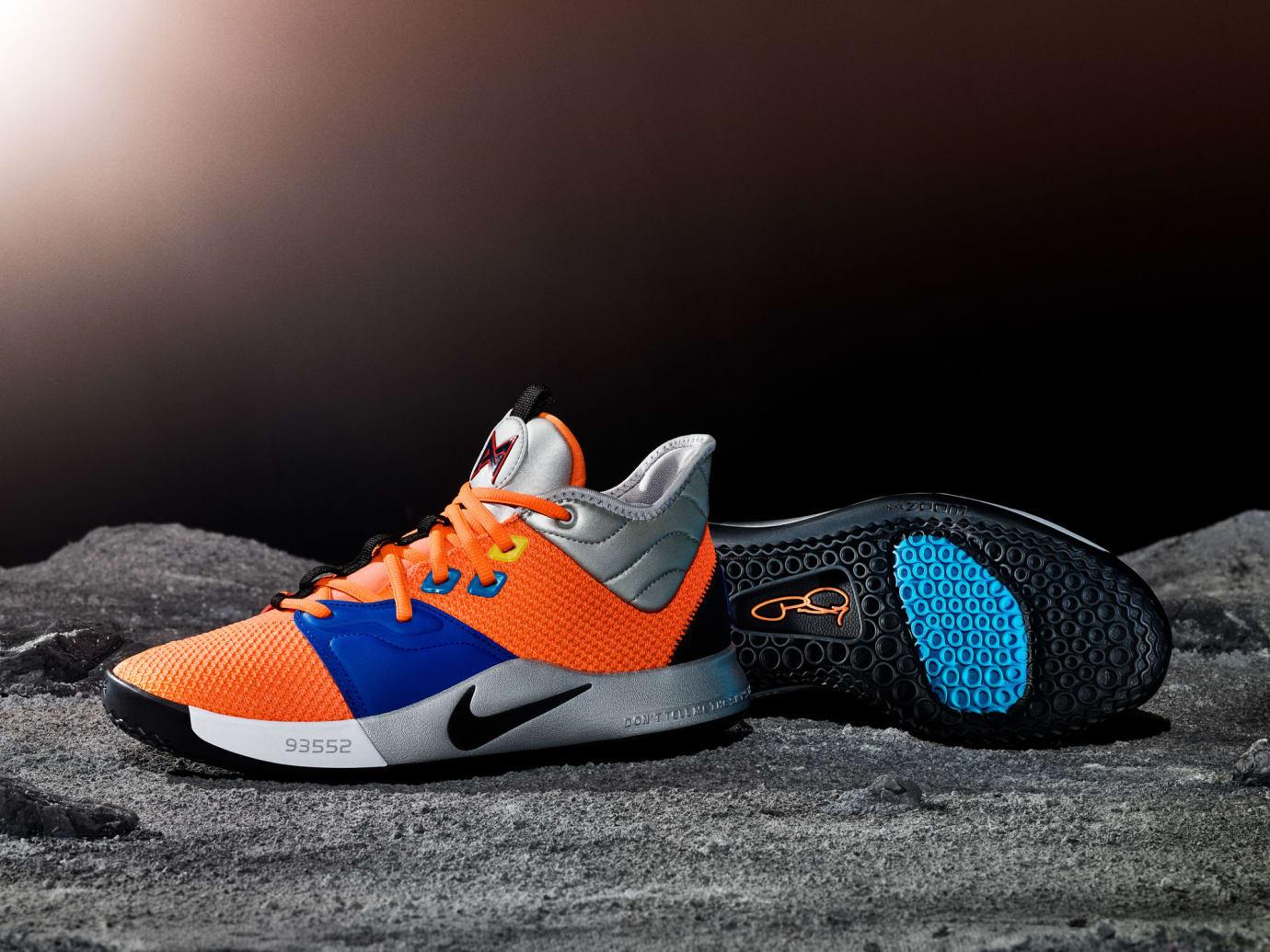 Nike PG 3 NASA Release Date CI2666-800 Moon