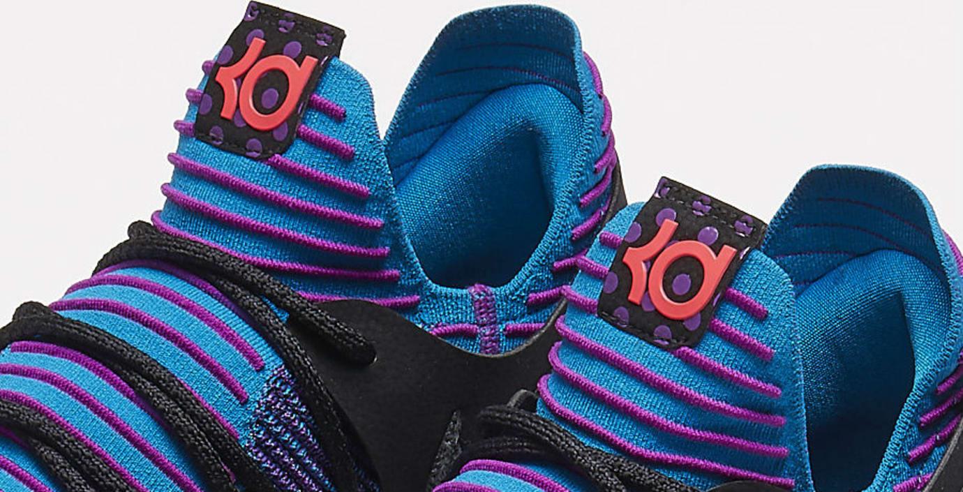 finest selection 92ab6 4aafc Nike KD 10 Doernbecher Sample Tongue