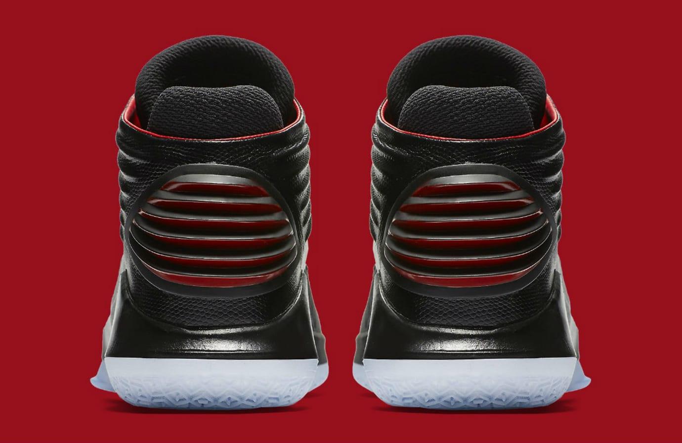 Air Jordan 32 XXXII Banned Bred Release Date Heel AA1253-001
