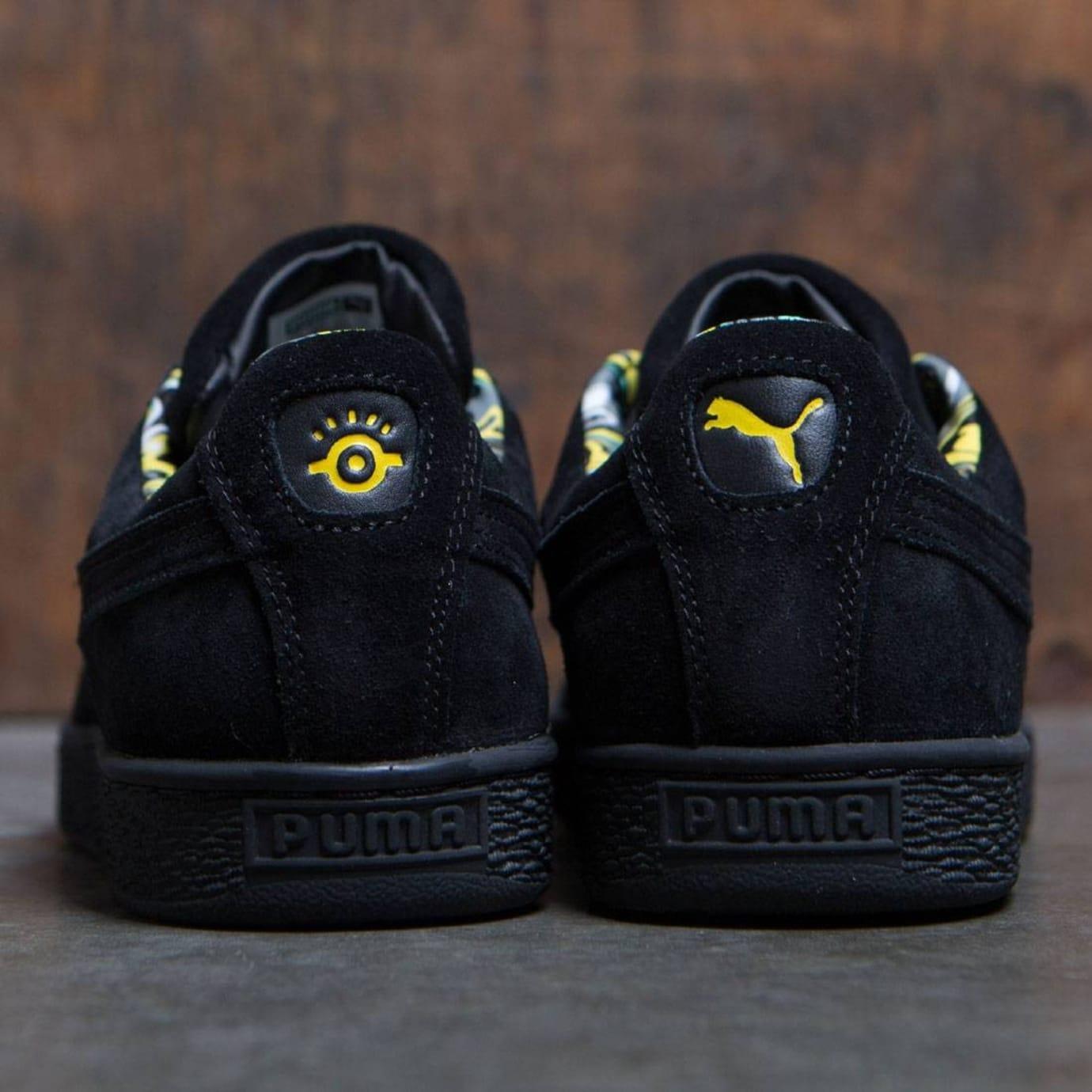 Minions x Puma Suede Release Date Heel