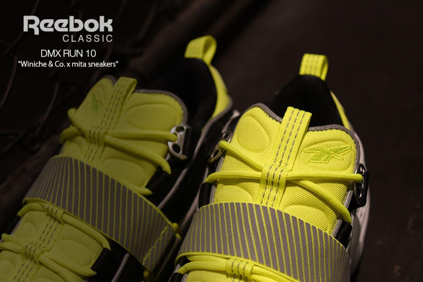 Winiche & Co x Mita Sneakers x Reebok DMX Run 10 (Tongue)