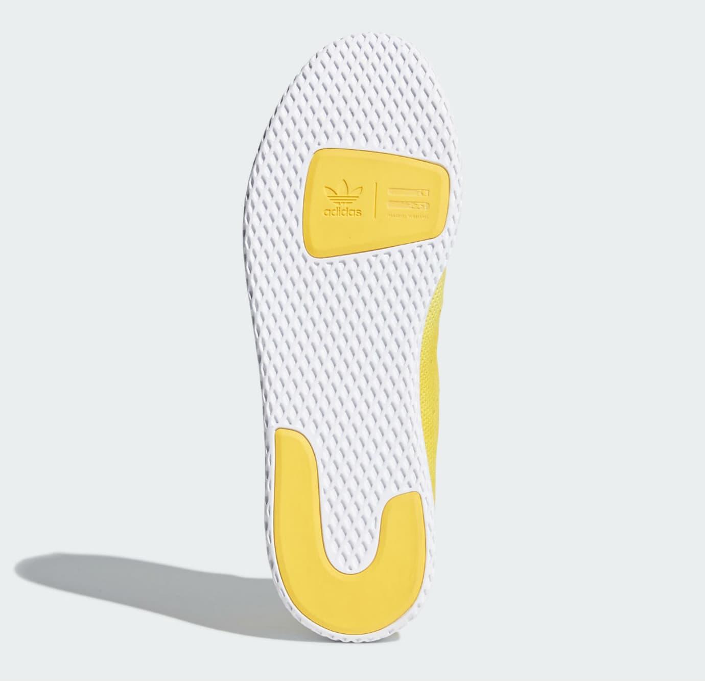 75cc9483aba43 Pharrell x Adidas Tennis Hu Holi Bright Yellow Release Date DA9617 Sole