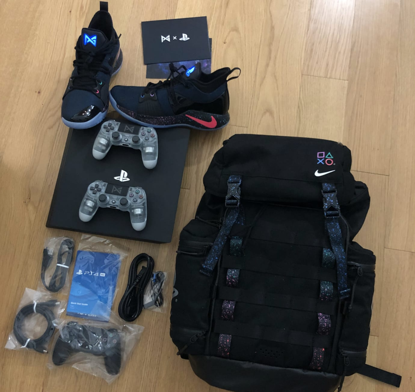 80c0b3cc2a67f9 Playstation x Nike PG2 Friends and Family Pack