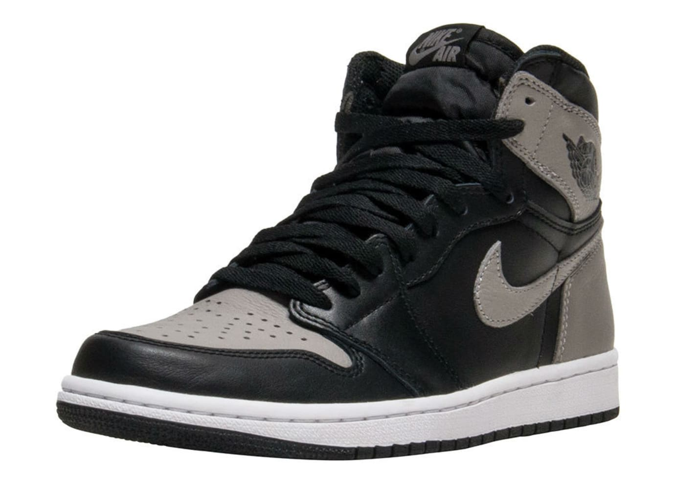 Air Jordan 1 I Shadow Grey 2018 Release Date 555088-013 Front