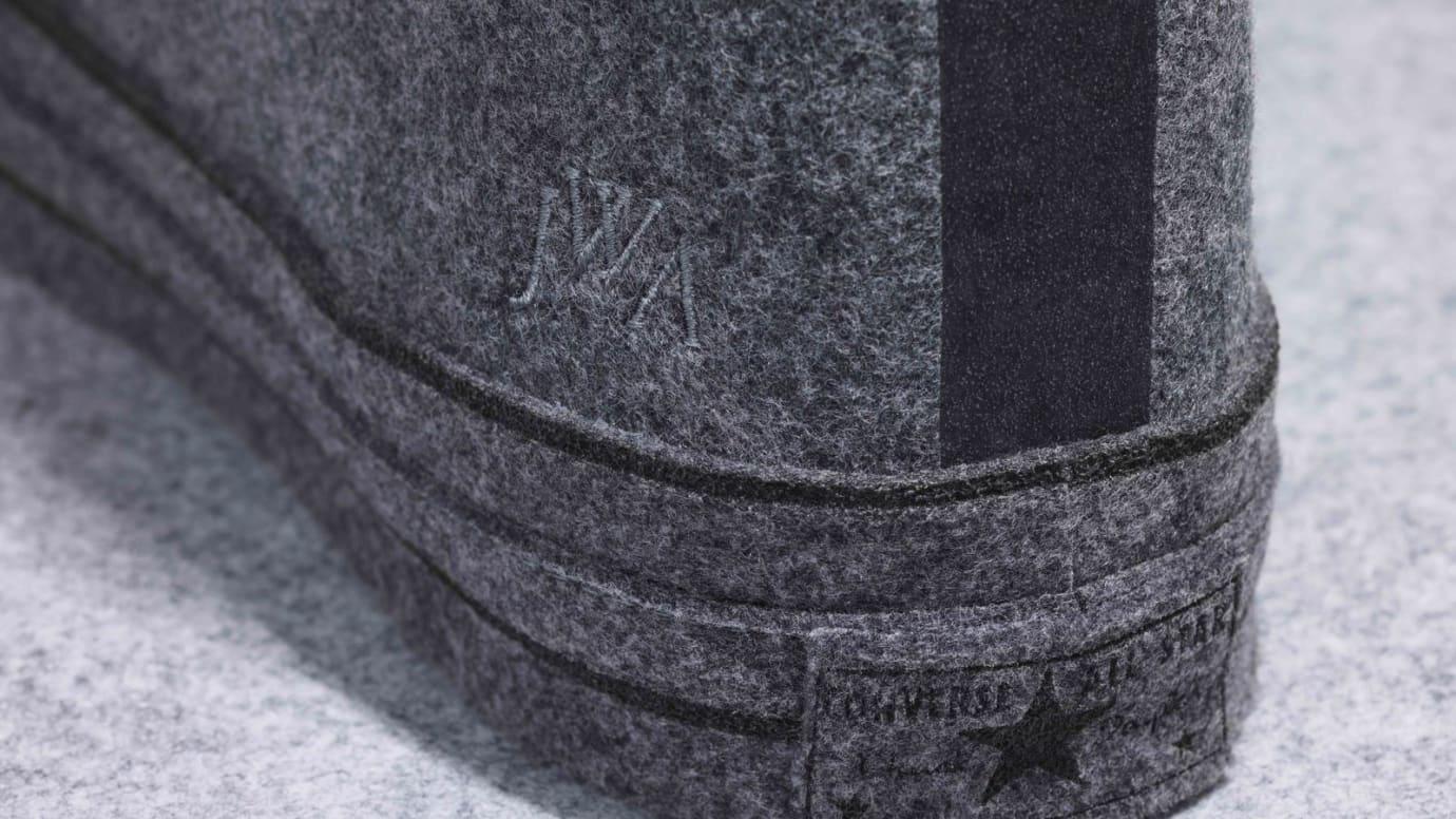 JW Anderson x Converse Chuck 70 Felt 'Quiet Shade' (Heel)