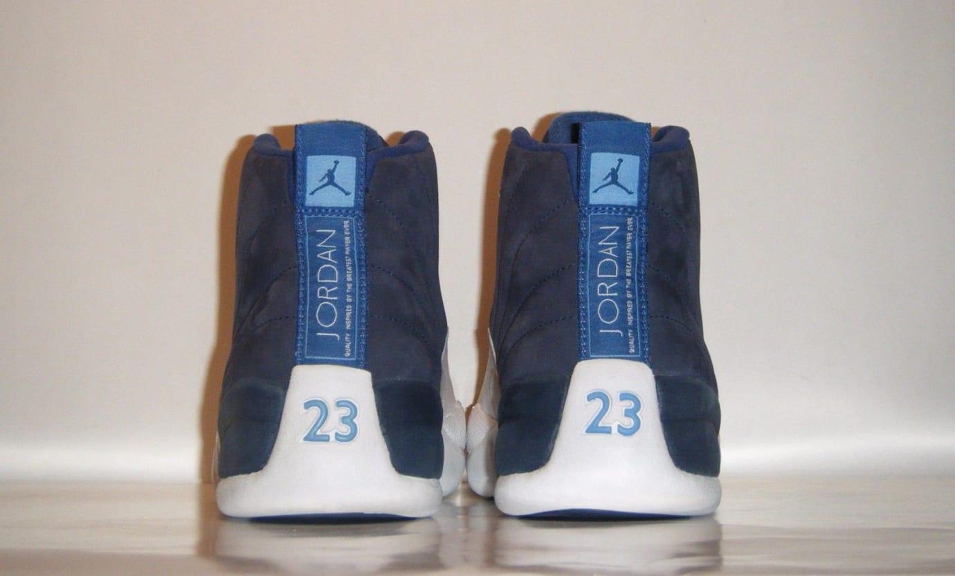 Air Jordan 12 Obsidian Nubuck (Heel) 2