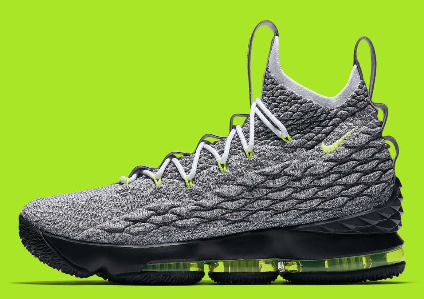huge discount be050 8339f Nike LeBron 15 Air Max 95 Neon Release Date AR4831-001 Main ...
