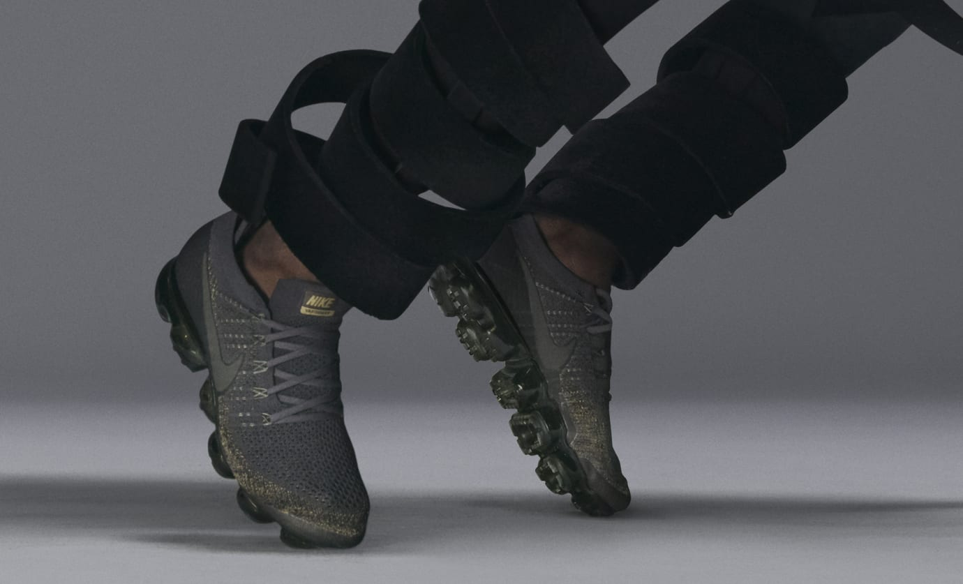 best service 97ff8 ef4d4 NikeLab Essential Air VaporMax Oreo Olive | Sole Collector