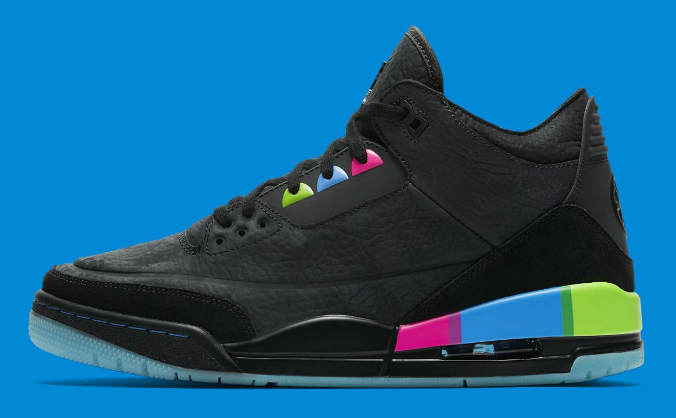 Air Jordan 3 III Quai 54 Release Date AT9195-001 Profile