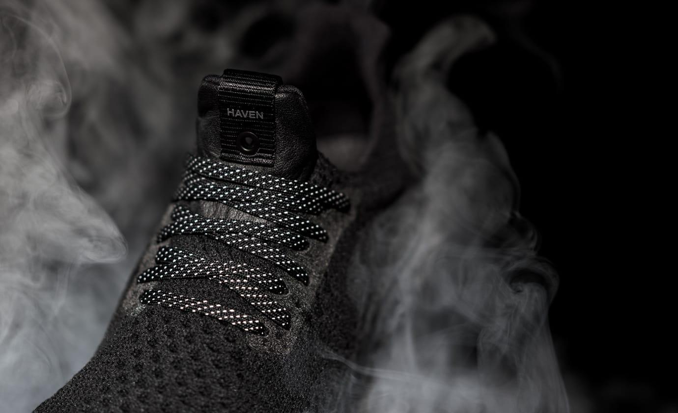 Haven Adidas Ultra Boost Triple Black Tongue