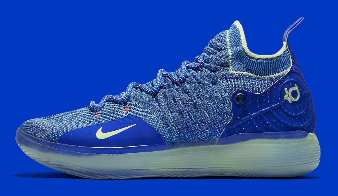 5414ac0967f Nike Zoom KD 11 EP Blue Release Date AO2605-900 Profile