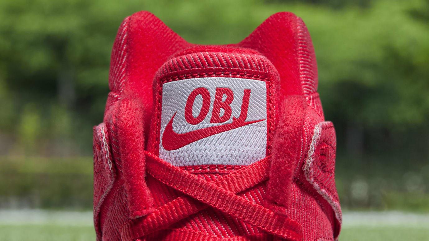 Odell Beckham Nike Tech Challenge 2 Cleats Tongue