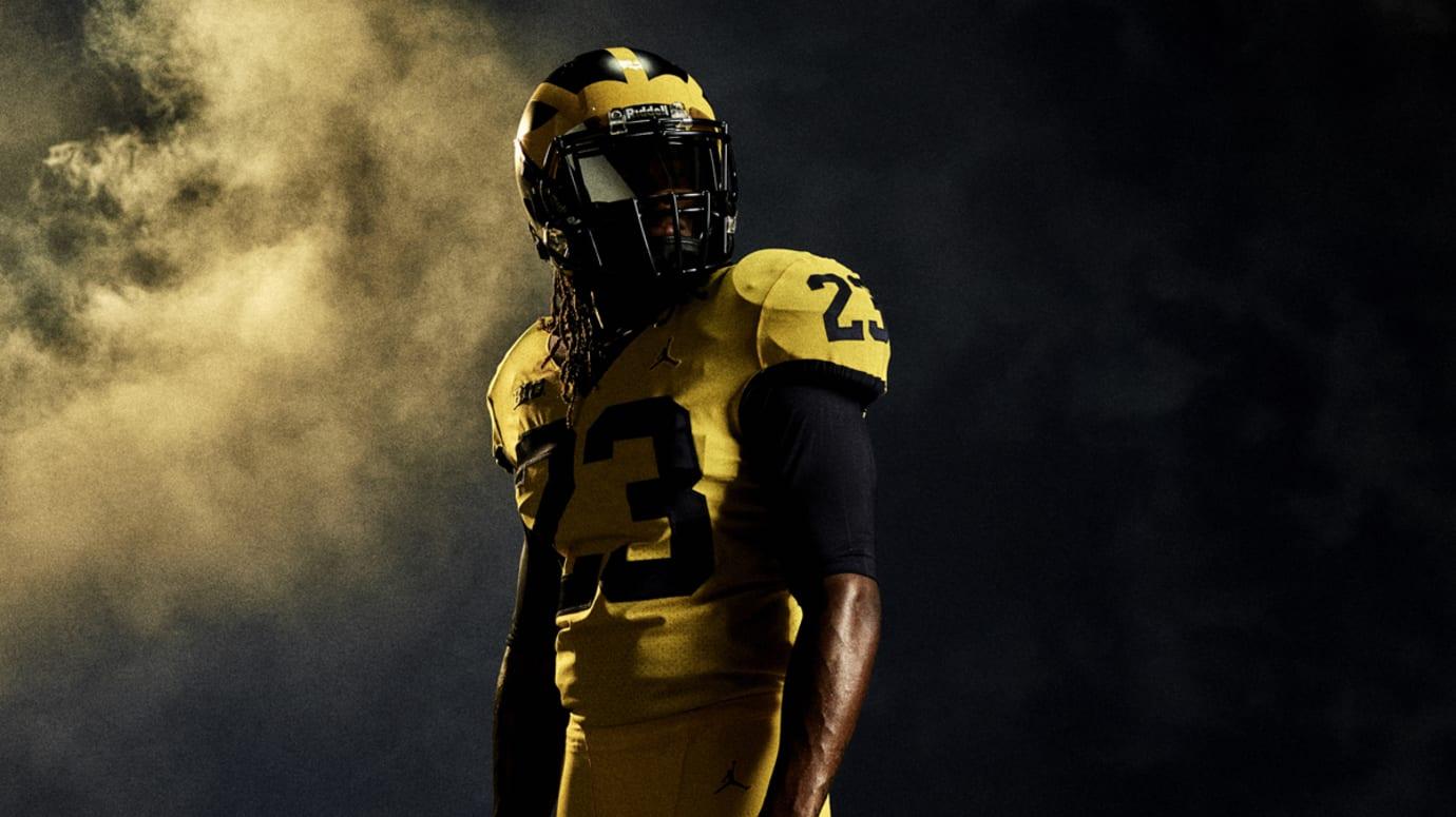 Air Jordan Michigan Football Uniforms | Sole Collector