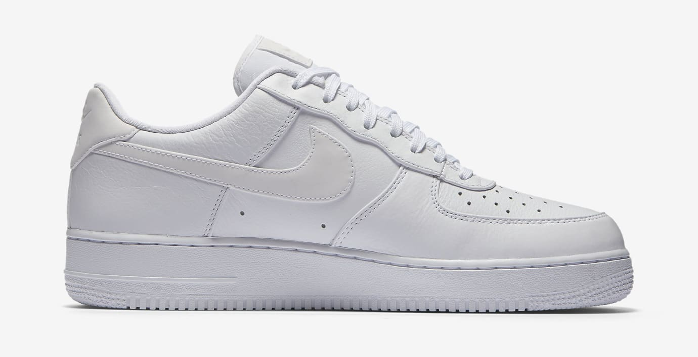 Nike Air Force 1 White Reflective 905345-100 Medial