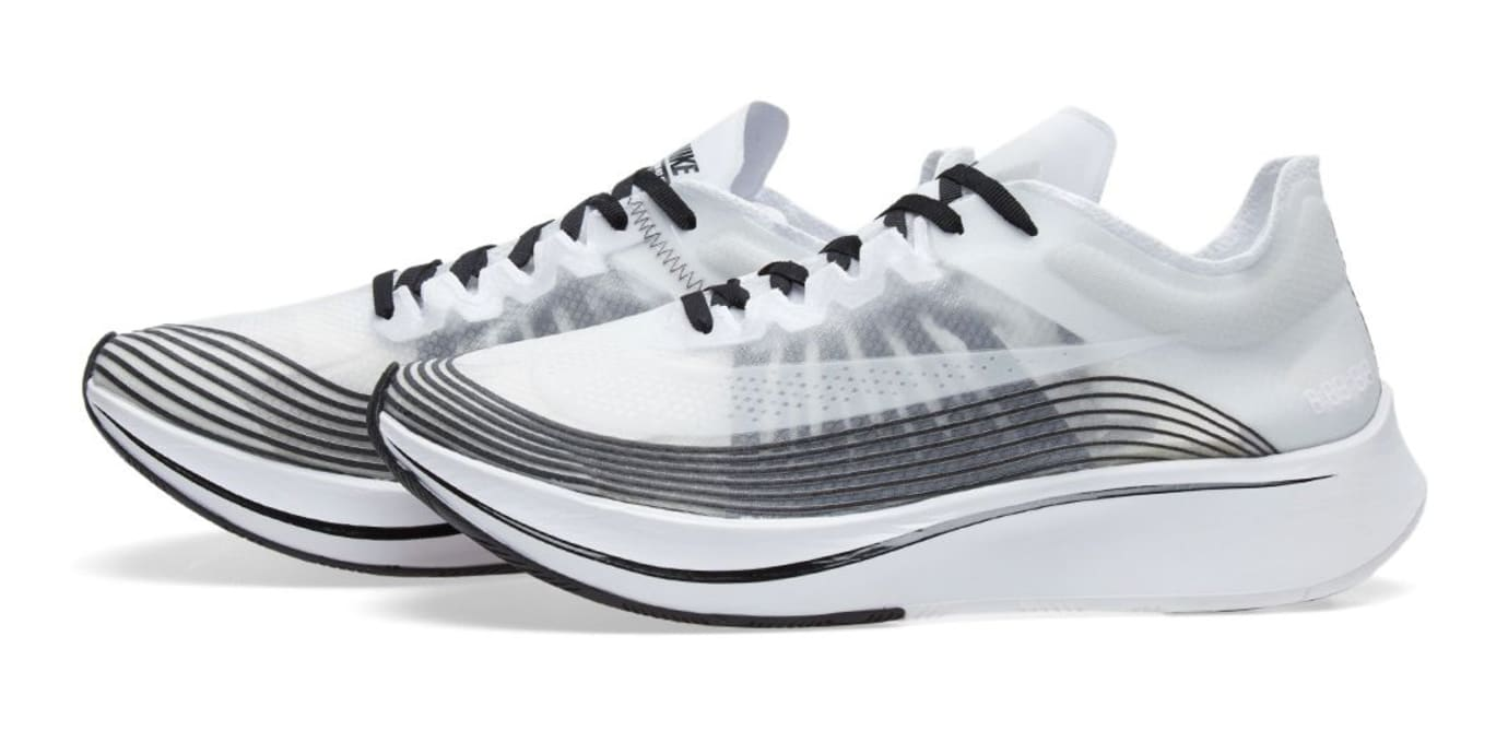 NikeLab Zoom Fly White Black AA3172-101 Profile