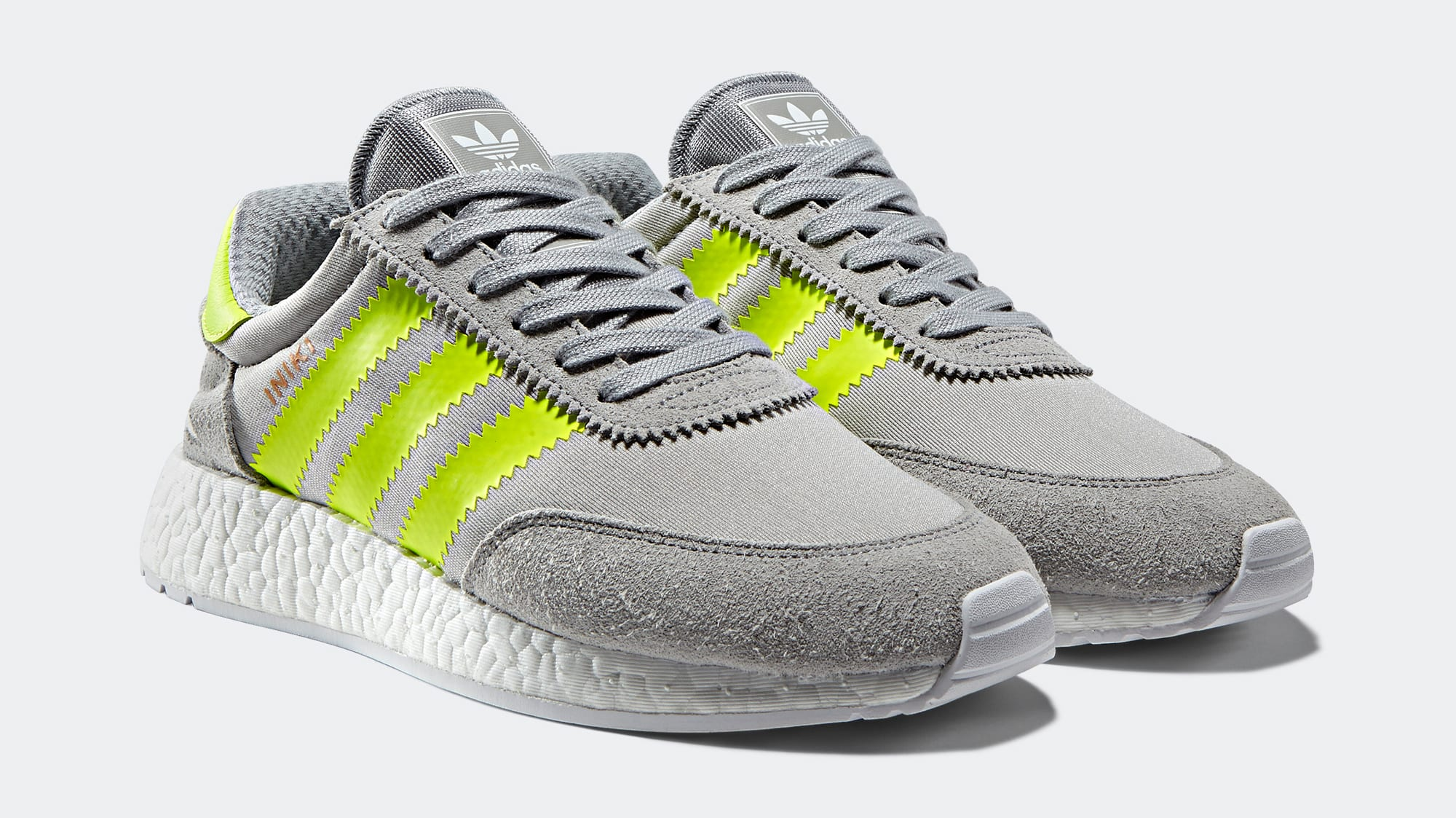 Adidas Iniki Yellow Grey