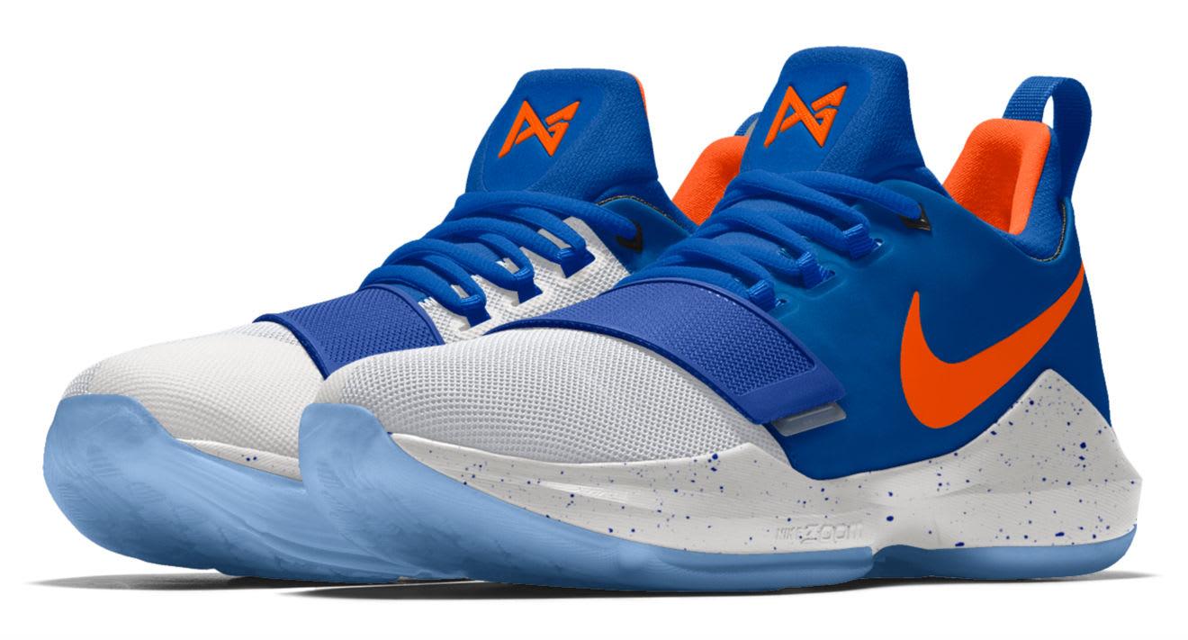 Nike ID PG1 OKC Blue