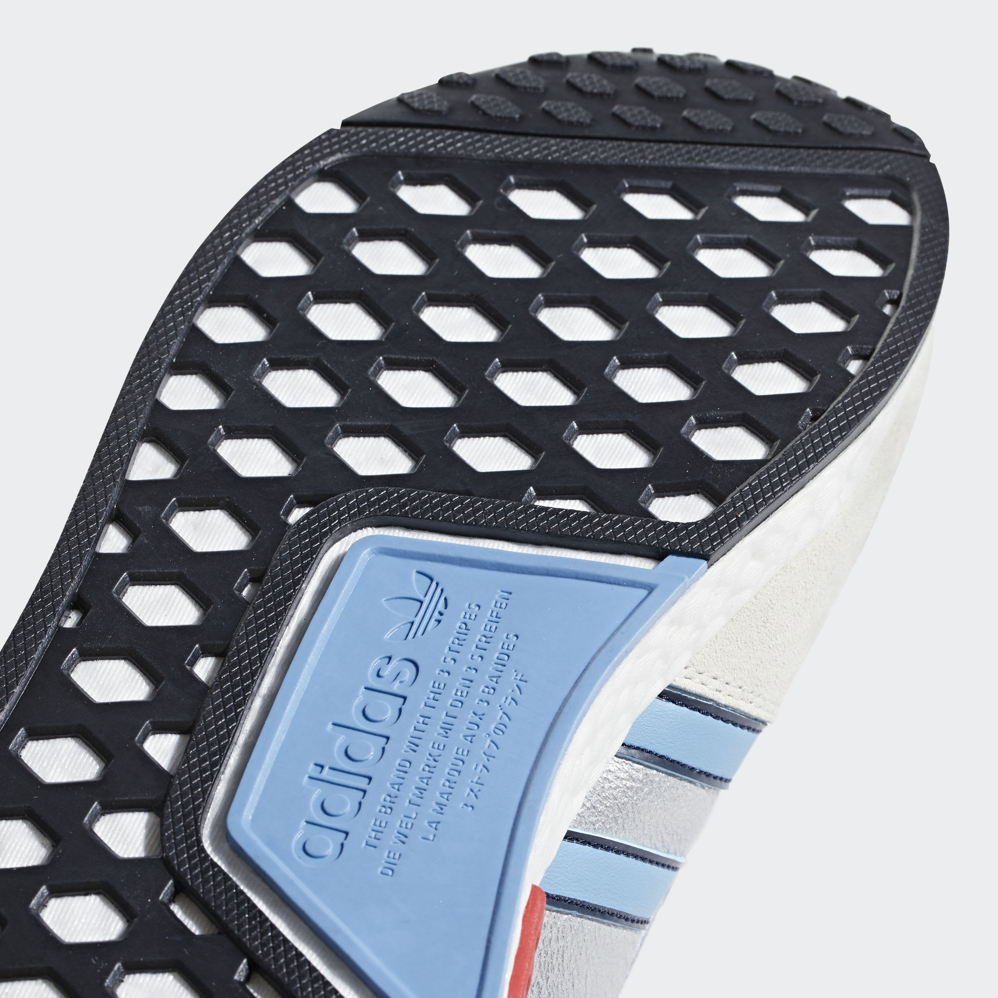 Adidas Micropacer NMD R1 Silver Release Date G26778 Outsole
