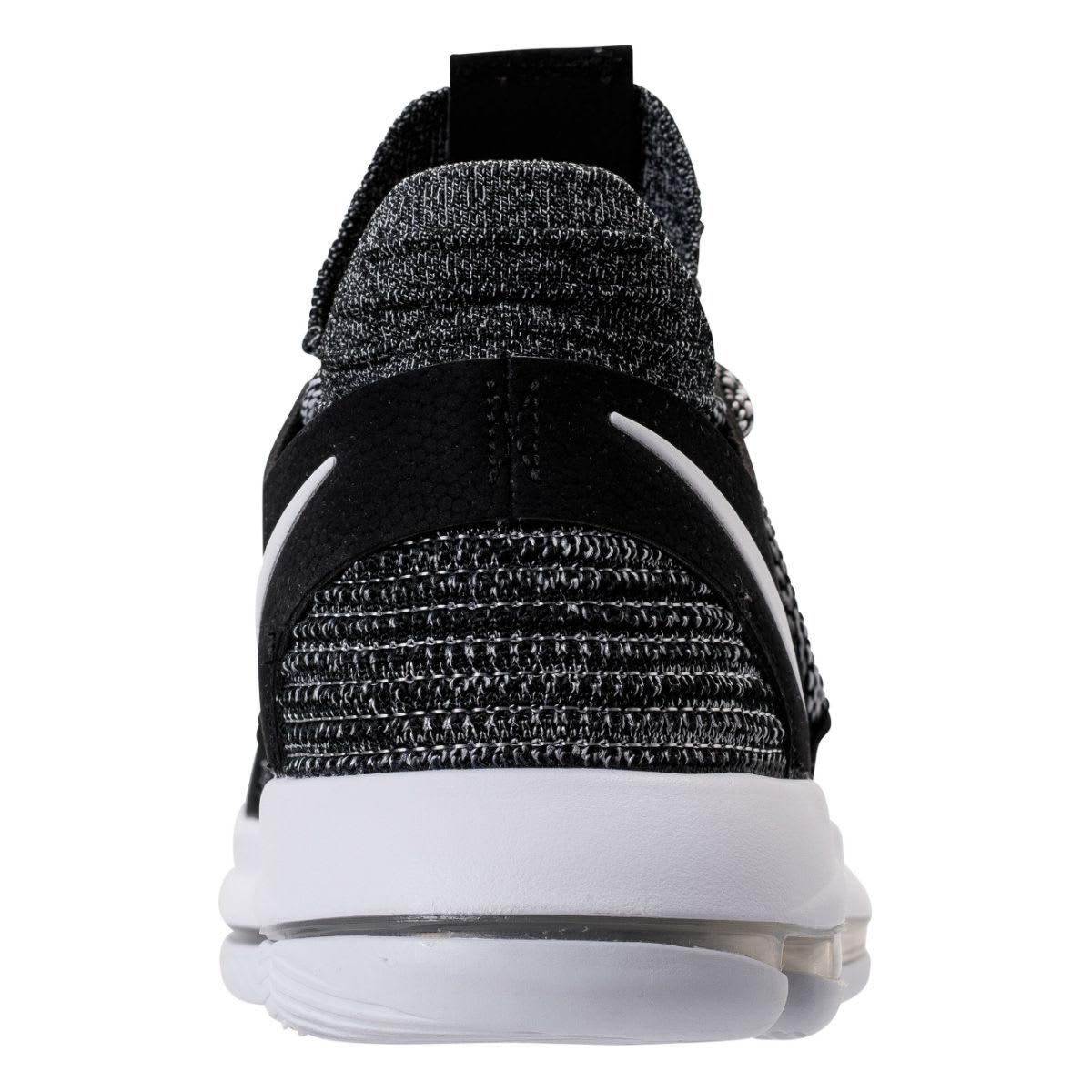 Nike KD 10 Oreo Release Date Heel 897815-001