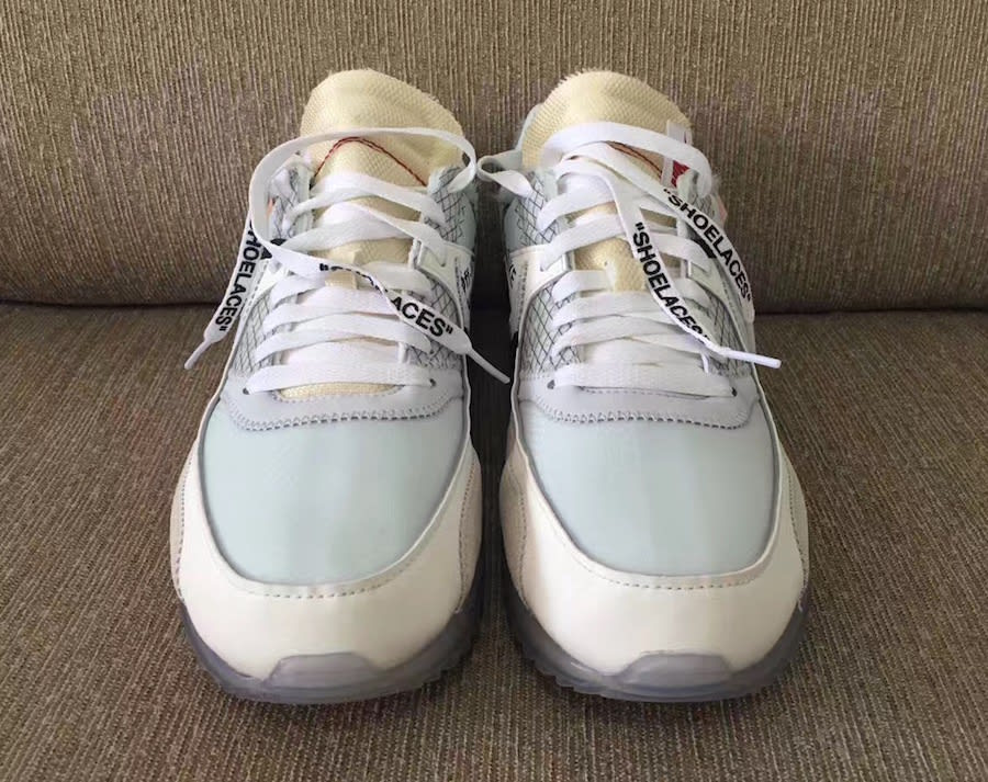 6eecb99a5096 ... ireland off white x nike air max 90 ice release date front ba771 356fd