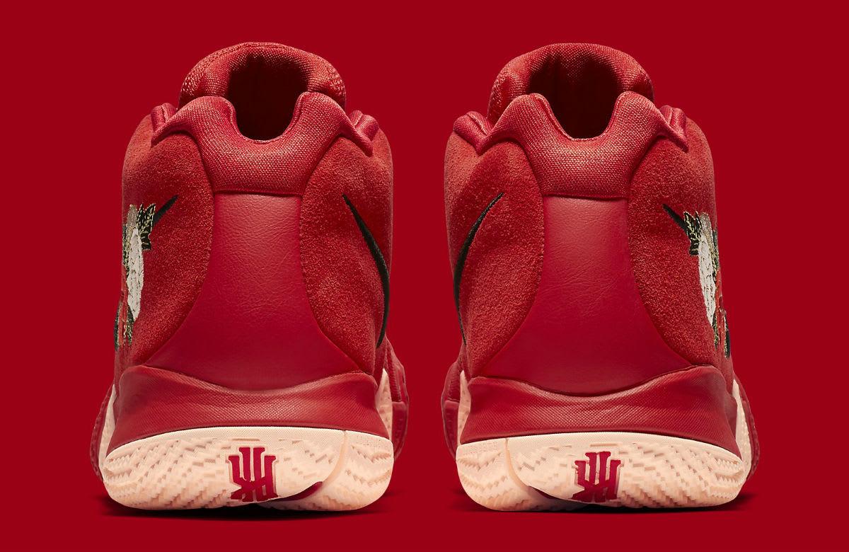 Nike Kyrie 4 CNY Release Date 943807-600 Heel