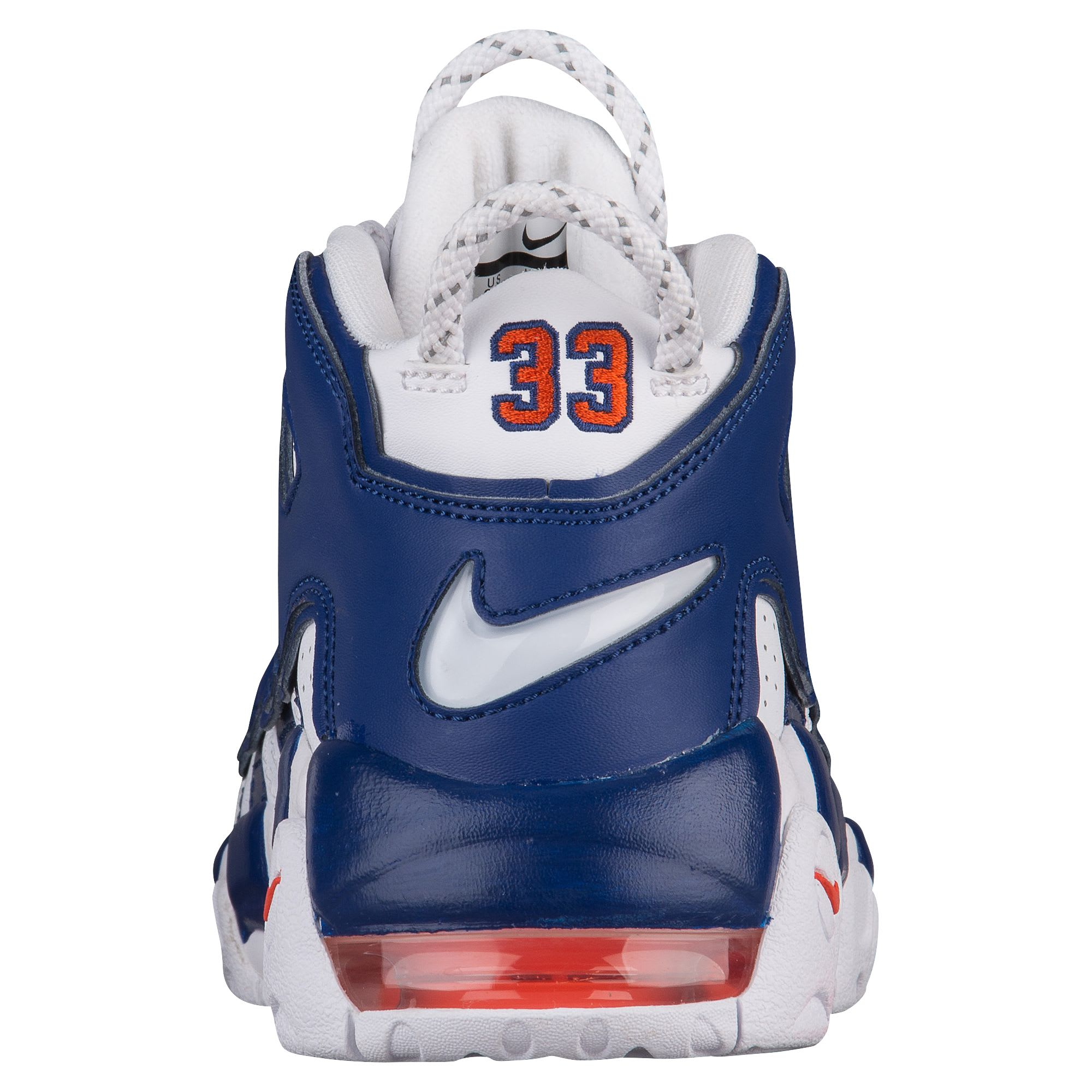 Nike Air More Uptempo Knicks Release Date Heel