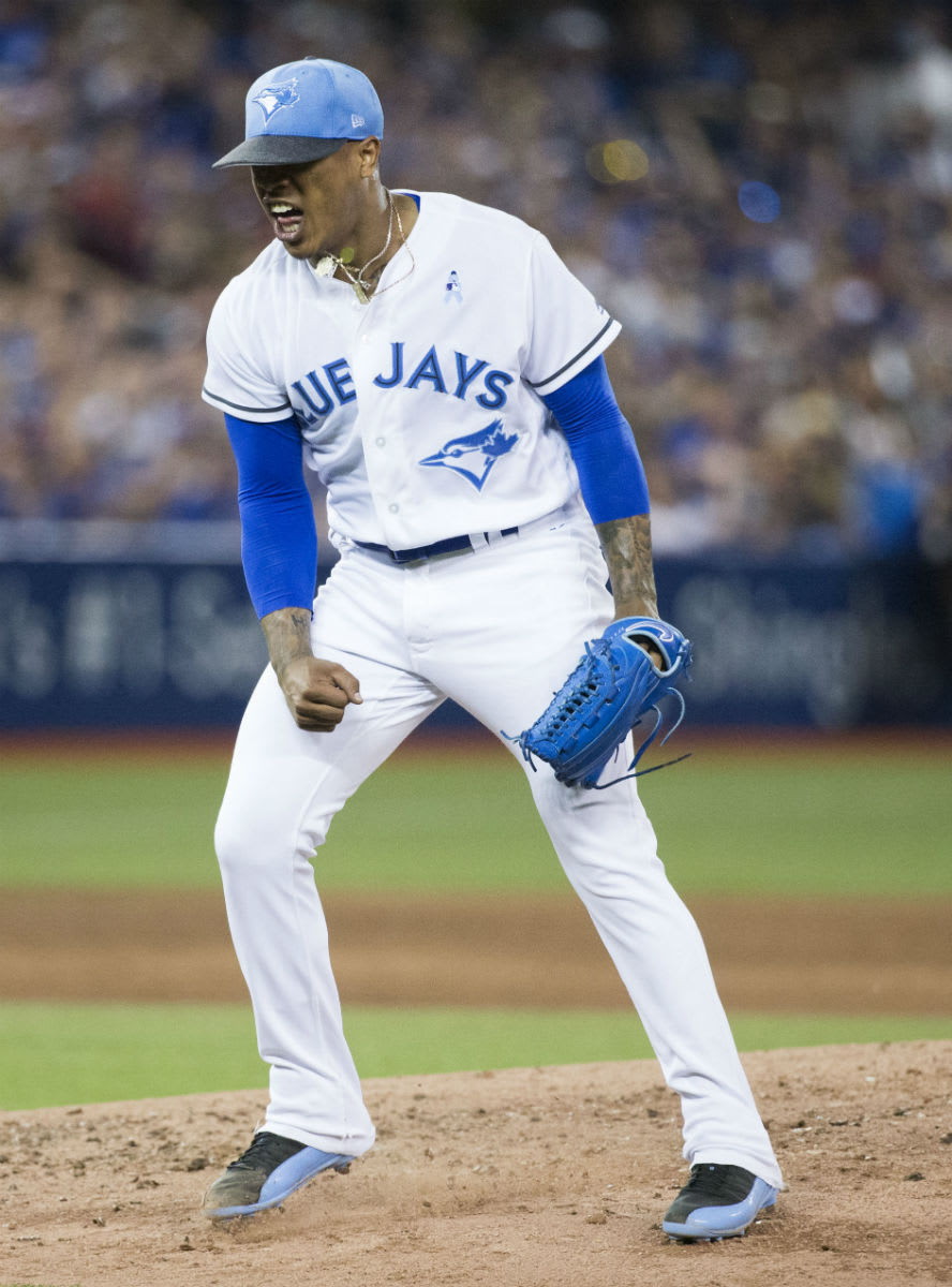 Marcus Stroman Air Jordan 12 Father's Day
