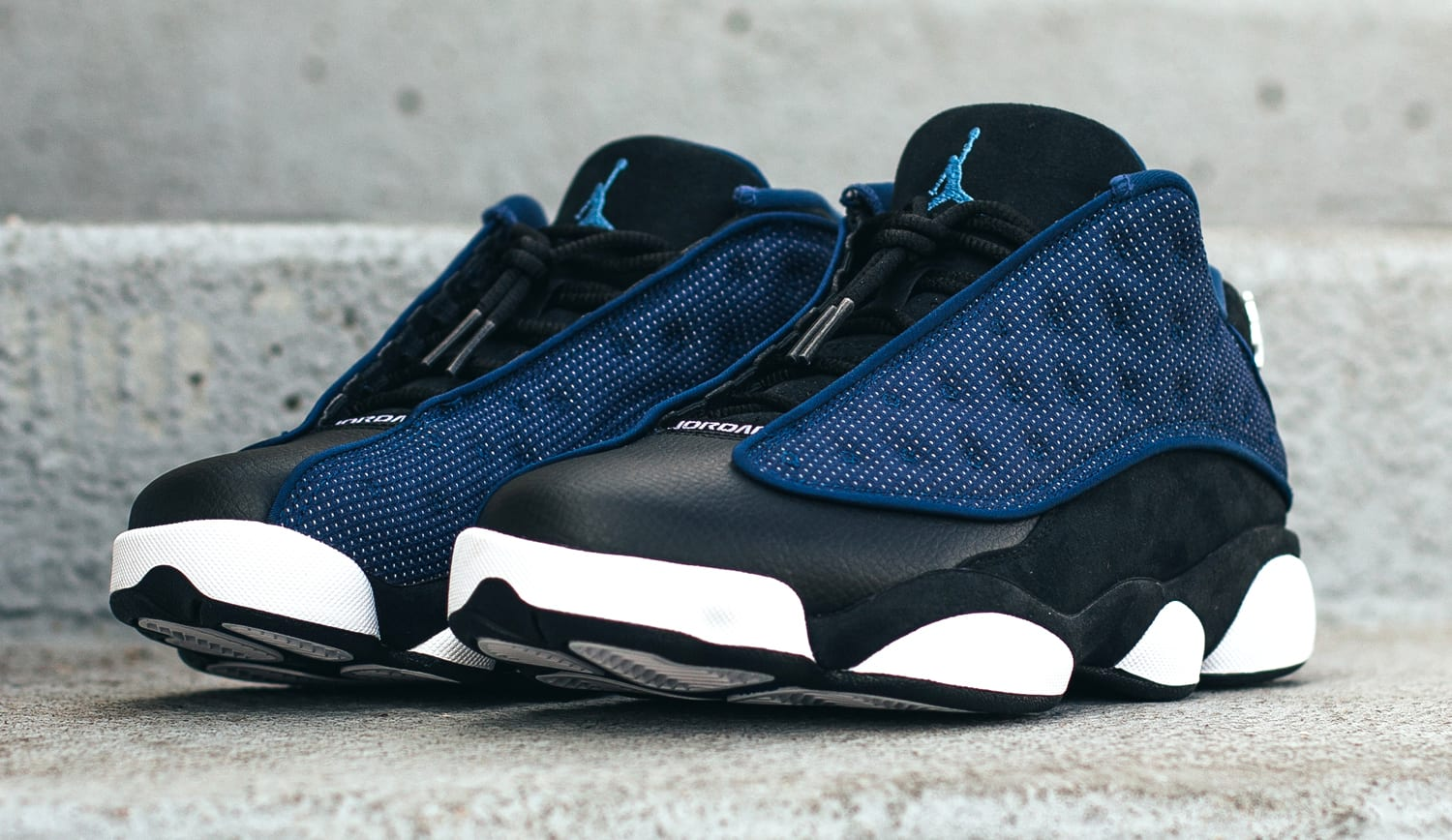Brave Blue Air Jordan 13 Low 310810-407