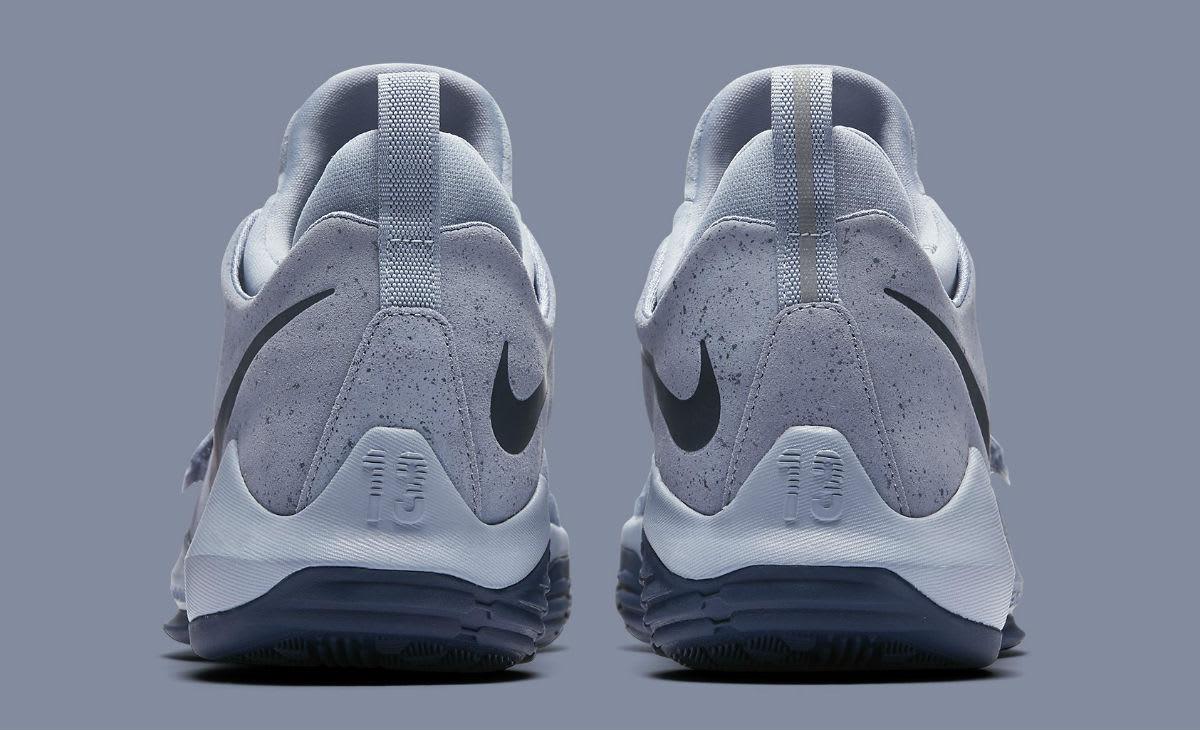 Nike PG 1 Glacier Grey Release Date Heel 878627-044