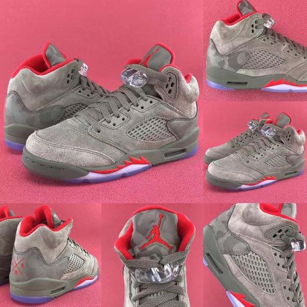f593db5090e7 Shirts match Jordan 5 supreme sneaker retro 5 supreme tees. air jordan 5  retro Image via kinstorkicks Instagram Air Jordan V ...