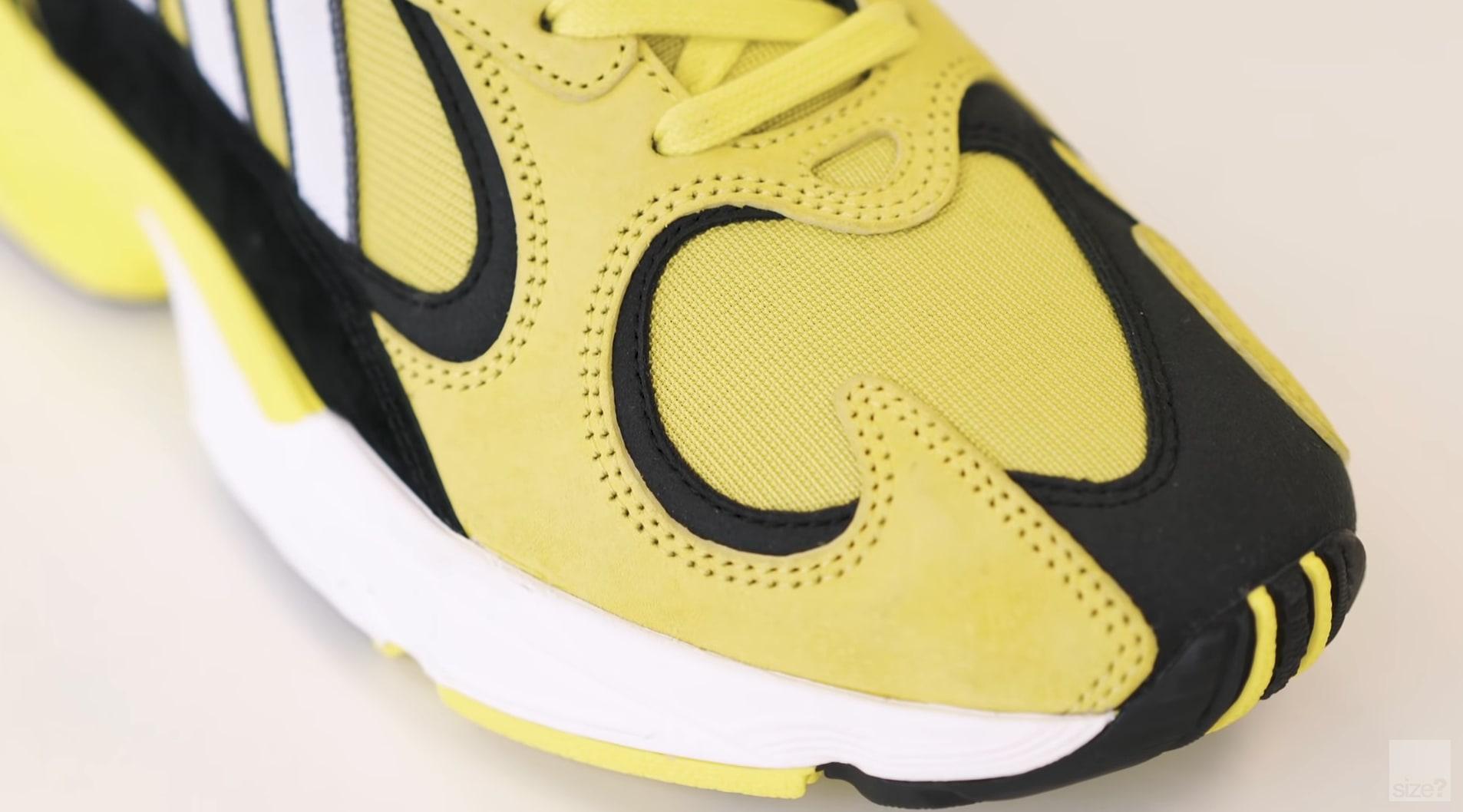 Size x Adidas Yung 1 'Acid House' (Toe Detail)