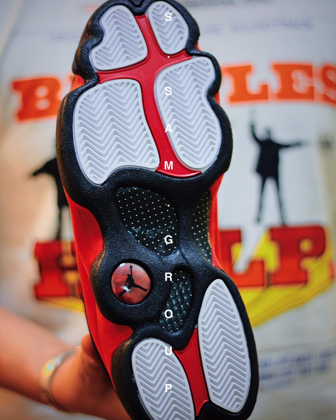Air Jordan 13 XIII Bred 2017 Release Date Outsole 414571-004