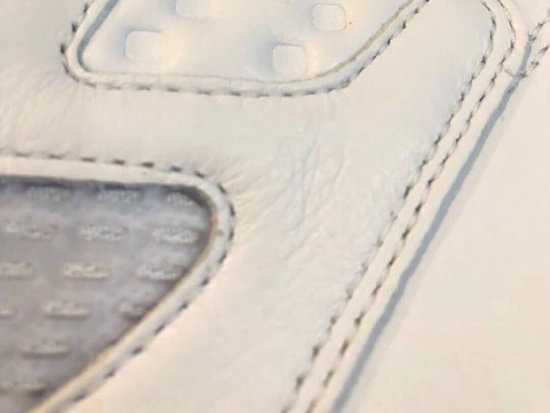 Air Jordan 5 Retro NRG 'White/Grape Ice/Black/New Emerald' (Detail)