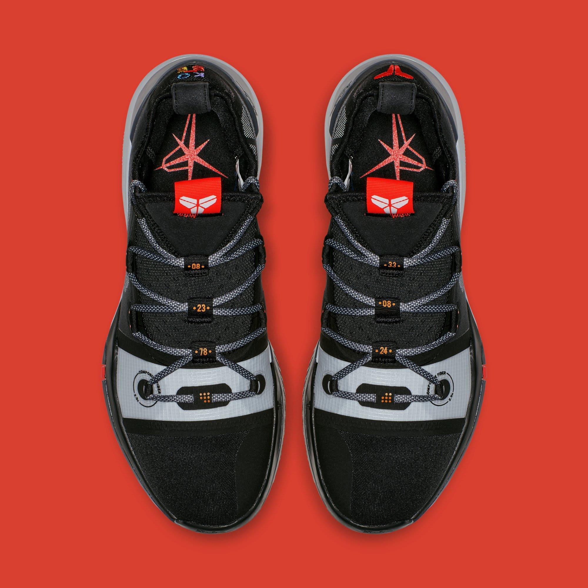 huge selection of 5b7a6 dae24 Image via Nike Nike Kobe AD  Black Multi  AV3555-001 (Top)
