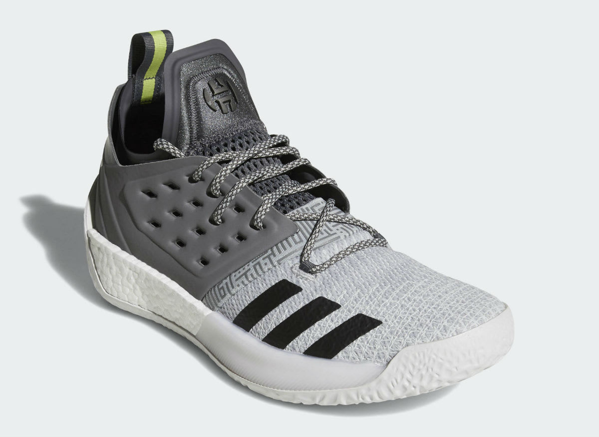 Adidas Harden Vol. 2 Concrete Grey Release Date AH2122 Front