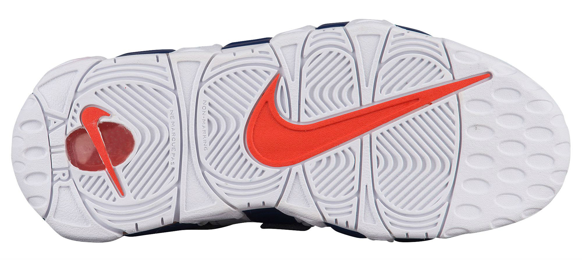 Nike Air More Uptempo Knicks Release Date Sole