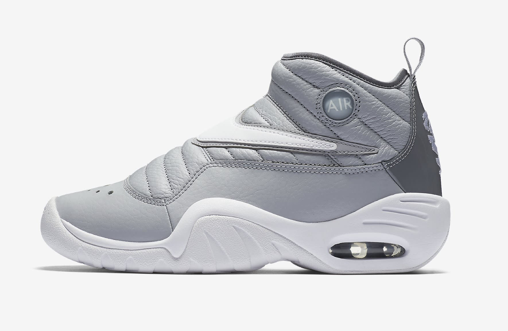 Nike Air Shake Ndestrukt 'Cool Grey' AA2888-002 (Lateral)