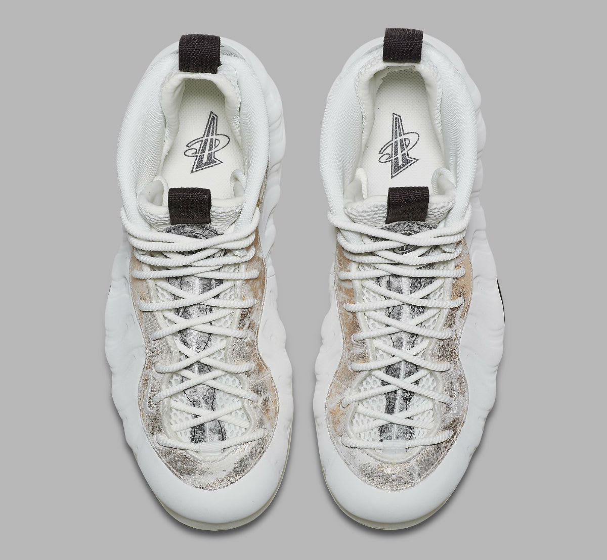 f1eeeb2e6c0 Image via Nike Nike Air Foamposite One Women s Summit White Oil Grey  Rainforest Release Date AA3963-101 Top