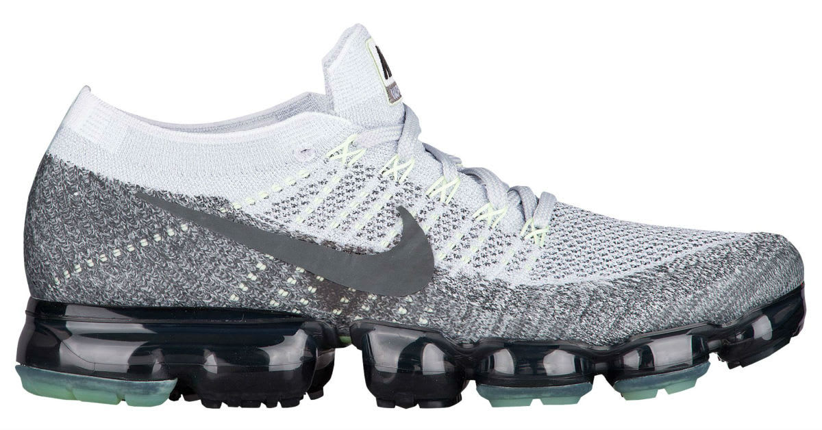 Nike Air VaporMax Heritage Pack Pure Platinum White Dark Grey Release Date 922915-002 Profile