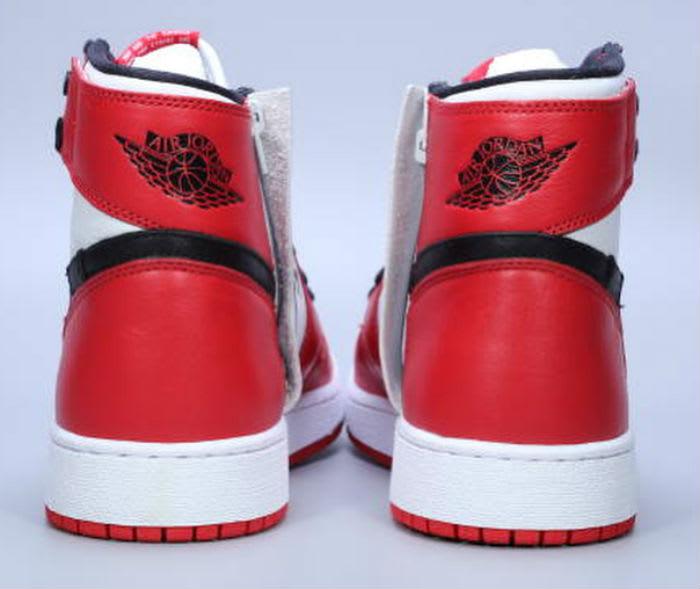 Air Jordan 1 Rebel Chicago Release Date AT4151-100 Heel