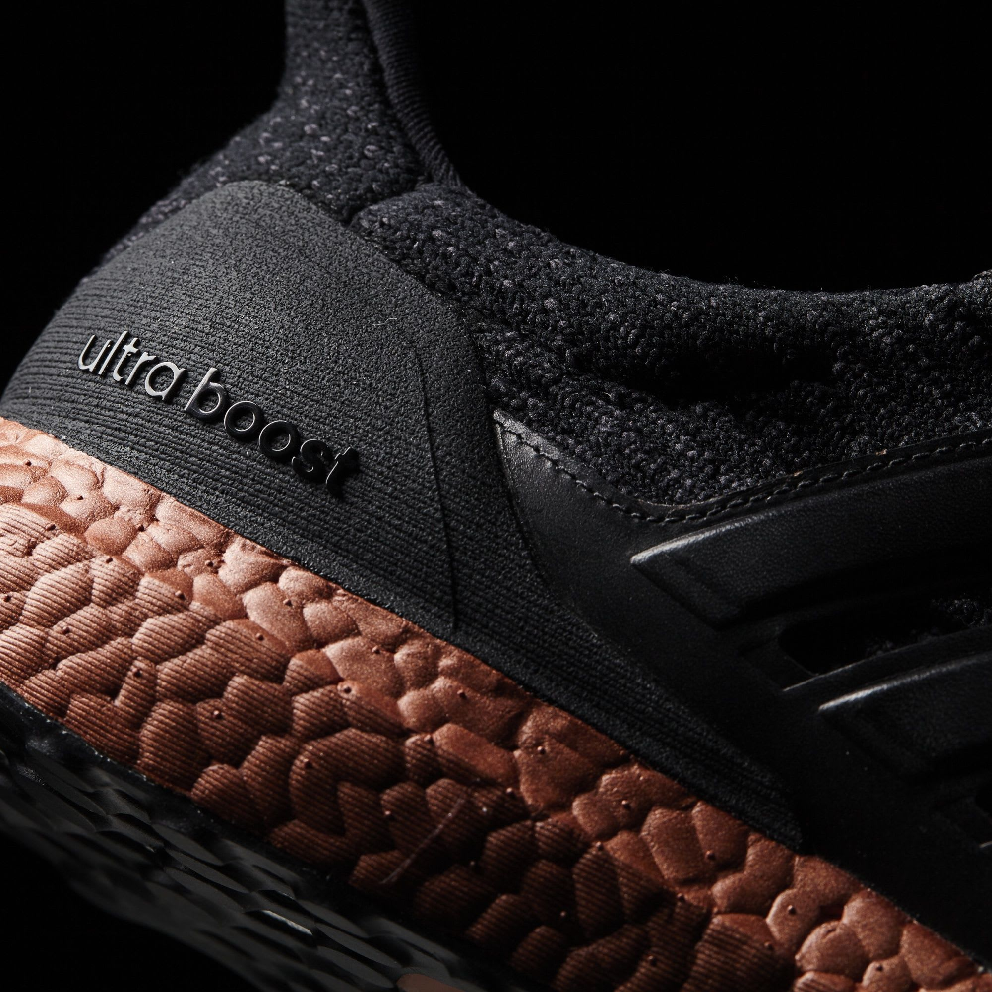 Adidas Ultra Boost 3.0 Black Bronze Sole Release Date Midsole
