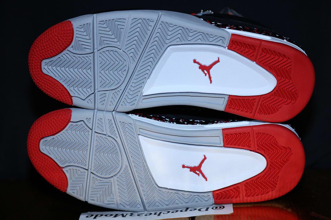 OVO Air Jordan 4 'Splatter' (Sole)