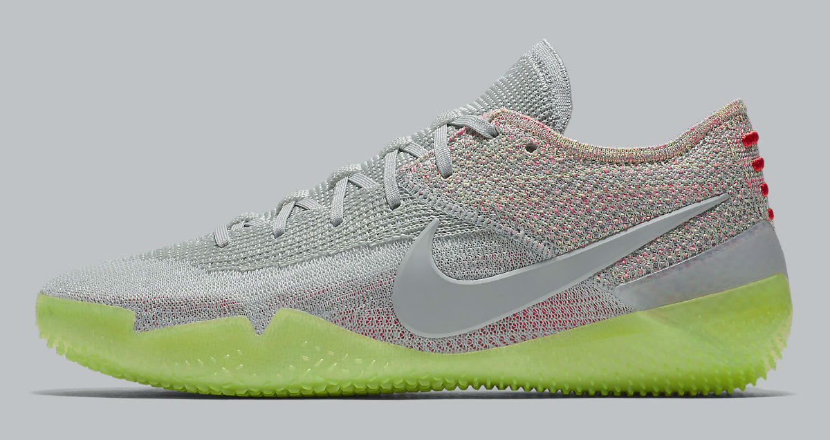 Nike Kobe A.D. NXT 360 Grey Multicolor Release Date AQ1087-003 Profile